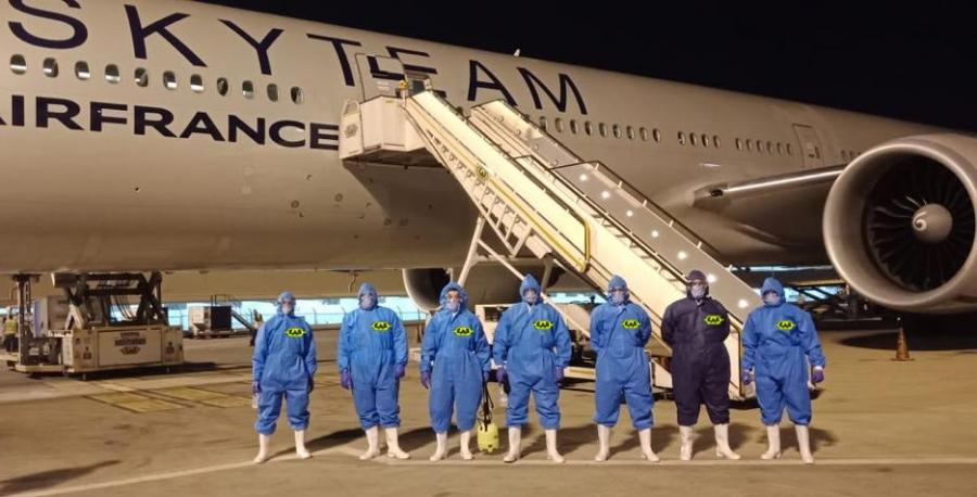 Aircraft Sanitization Service